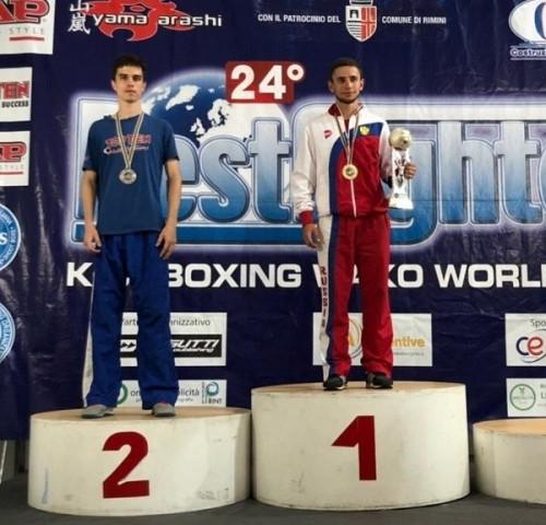 «Серебро» из Италии. Магнитогорский боец привез награду престижного турнира