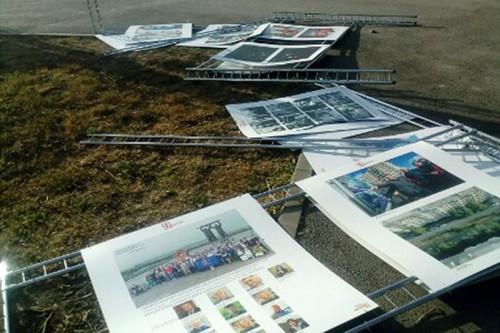 Горожане «отблагодарили». В Магнитогорске открылась фотовыставка, посвященная 90-летию города