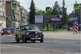 Ретро-автомобили на улицах города. Магнитогорск ожидает очередное зрелищное ралли
