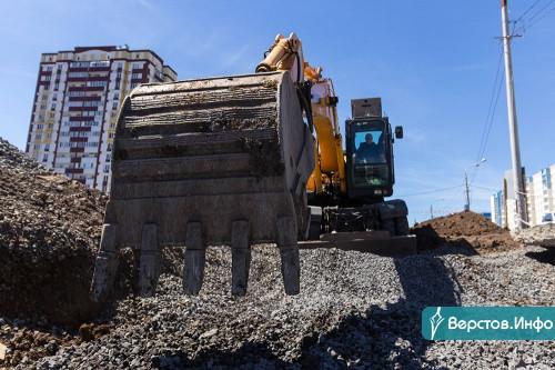 Проспект К. Маркса станет длиннее на 700 метров. Жители новых районов уже в сентябре оценят новый участок дороги