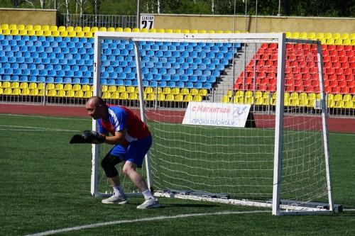 Победили представители Нагайбакского района. На Центральном стадионе встретились самые спортивные полицейские