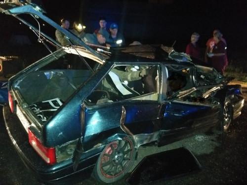 Пассажир погиб на месте. В полночь на Агаповском шоссе произошло смертельное ДТП