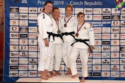 Одолела немку, но уступила голландке. Виктория Соколова завоевала «бронзу» на Кубке Европы по дзюдо