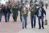 «Голубые береты» вышли на улицы города. Магнитогорские десантники празднуют День ВДВ