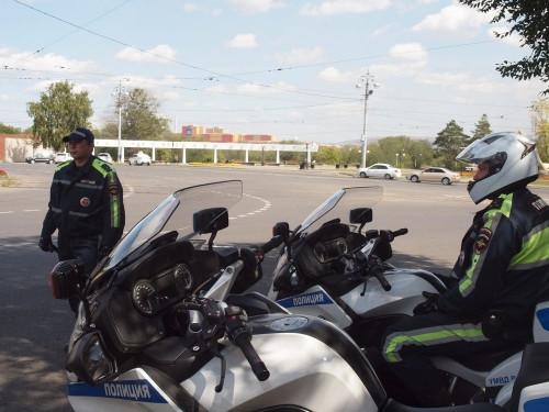 Мотоциклисты под контролем. Все выходные на дорогах города будет нести службу мотовзвод ДПС