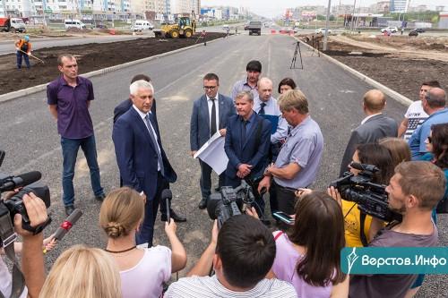Дорога в никуда. В Магнитогорске заканчивают строить новый участок проспекта К. Маркса