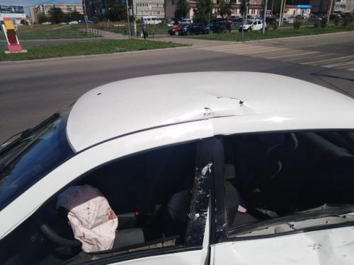 Серьезное ДТП на перекрестке. Малыша в «Гранте» спасло детское кресло