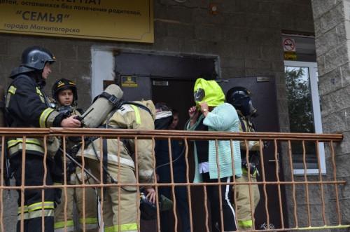 Спасли 130 человек. В школе-интернате «Семья» прошли пожарно-тактические учения