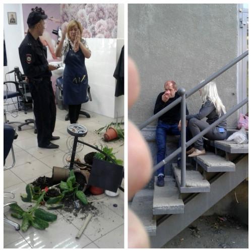 В Магнитогорске парикмахеры оборонялись от наркоманов. Задержанных передали полиции, оттуда – в травмпункт