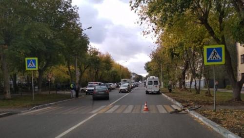 Спешиться забыл. В Магнитогорске велосипедист попал под колеса автомобиля из-за нарушения ПДД