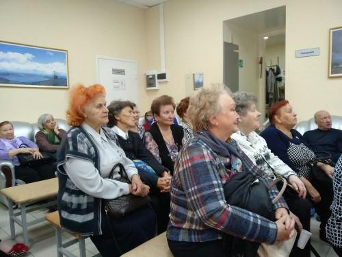 По дороге к долголетию. В гериатрическом центре медсанчасти с размахом отметили День пожилых людей