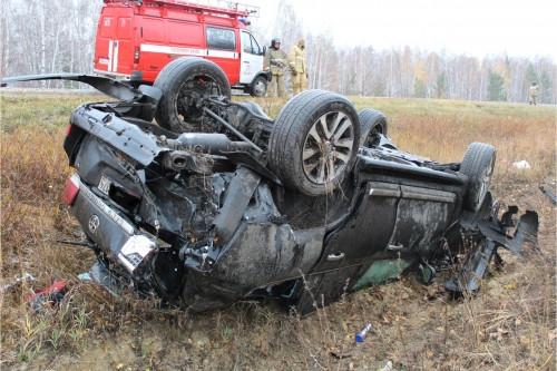 Внедорожник слетел с дороги. В ДТП на трассе Южноуральск – Магнитогорск погиб известный бизнесмен