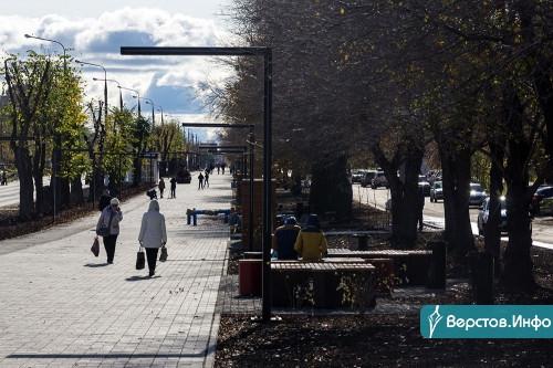 Буферная зона. Потоки машин и людей на бульваре вдоль проспекта К. Маркса разделит живая изгородь