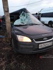 Везли женщину, пострадавшую в аварии на левом берегу. В Магнитогорске «скорая» попала в ДТП на перекрестке