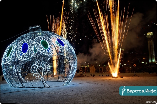 Закупка на четыре миллиона. К Новому году город приобретёт два воздушных шара, светящиеся крылья и чудо-зеркало