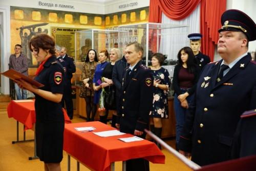 Продолжатели традиций. 48 молодых полицейских Магнитогорска приняли присягу