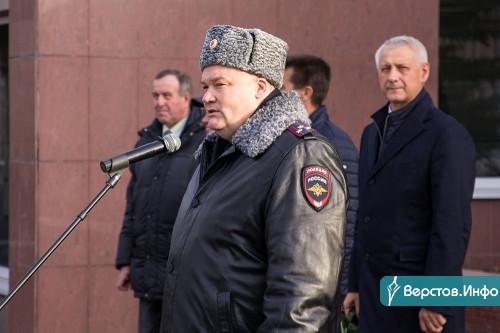 «Полицейский перестал быть жандармом». В Магнитогорске сотрудники правопорядка почтили память погибших коллег