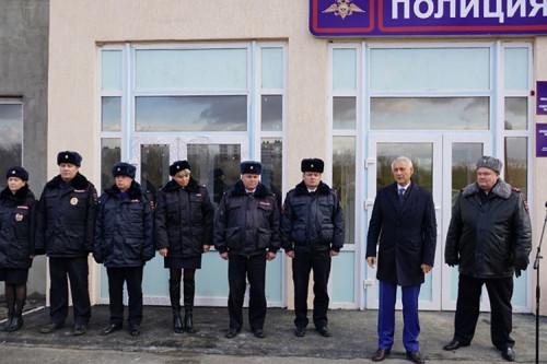 С системой видеонаблюдения. В Магнитогорске открылся участковый пункт полиции