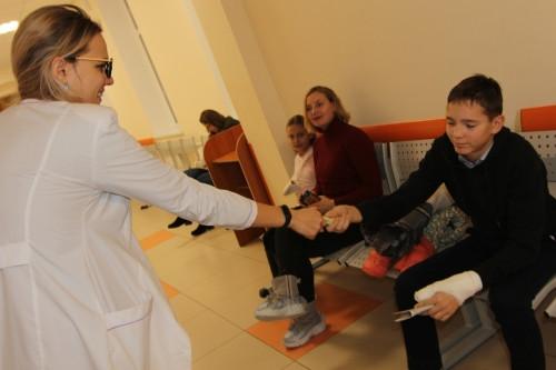 Фото дня! День доброты в травмпункте «Айболит»