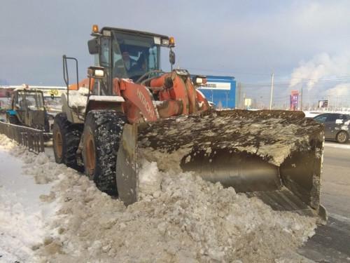 Выпало больше месячной нормы осадков. Подрядчики продолжают устранять последствия недавнего снегопада