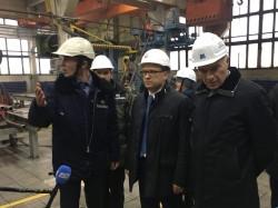 Текслер работает в Магнитке. Губернатор пообщался с руководством комбината и побывал в индустриальном парке ММК