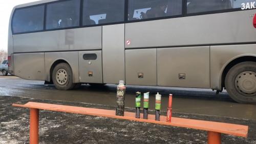 Стоят под Южноуральском. Фанатов «Трактора», объявивших бойкот руководству клуба, по пути в Магнитку остановил ОМОН