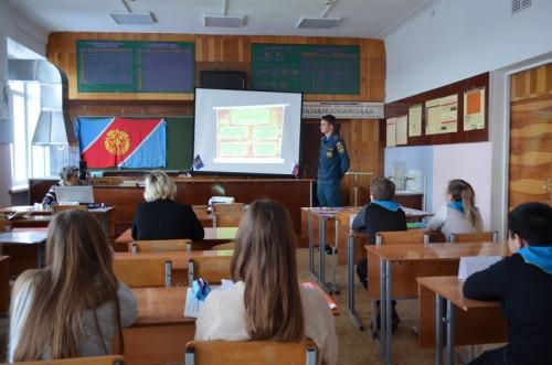 В школе научат. В Магнитогорске детей вовлекают в движение юных пожарных