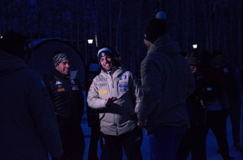 Пробежали на 40 тысяч рублей. Участники Кубка мира по сноуборду вышли на старт акции «Километры добра»