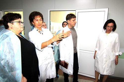Детская медицина – в приоритете! Детскую больницу с рабочим визитом посетил министр здравоохранения