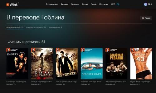 Дмитрий «Гоблин» Пучков перевел и озвучил десять фильмов для платформы Wink от «Ростелекома»