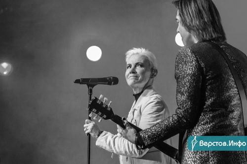 Она выступала в Арене «Металлург» пять лет назад. Скончалась солистка легендарной группы «Roхette»