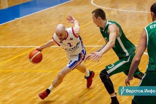 Победа и поражение. Баскетболисты магнитогорского «Динамо» принимали одноклубников из Майкопа