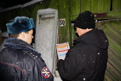 Полицейские ушли в «Ночь». В Магнитке прошло очередное профилактическое мероприятие