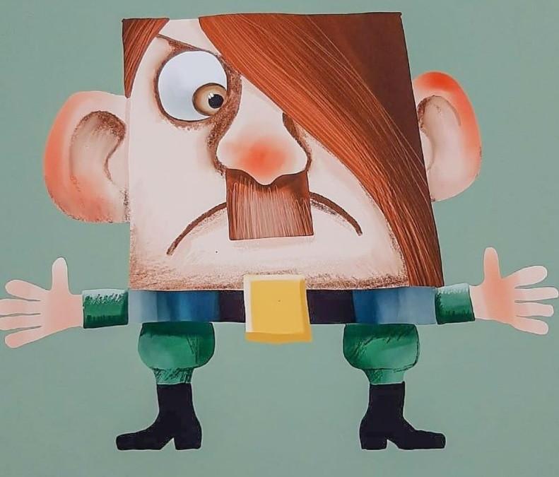 Бармалееем станет надувной Гитлер! Магнитогорский художник создал необычного персонажа для спектакля «Айболит»