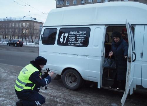 Лидеры по нарушениям – маршрутчики. В Магнитогорске проверили деятельность коммерческих перевозчиков