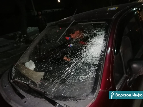 Момент ДТП попал на видео. На левом берегу пьяный водитель «Матиза» сбил школьницу