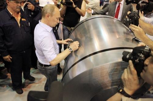 Его открывал Путин! Стан 2000 холодной прокатки ММК достиг рекордного показателя