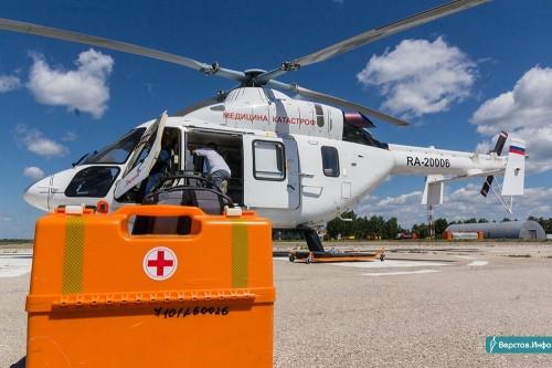 Помощь прилетела. Магнитогорская бригада центра медицины катастроф за год эвакуировала 67 пациентов