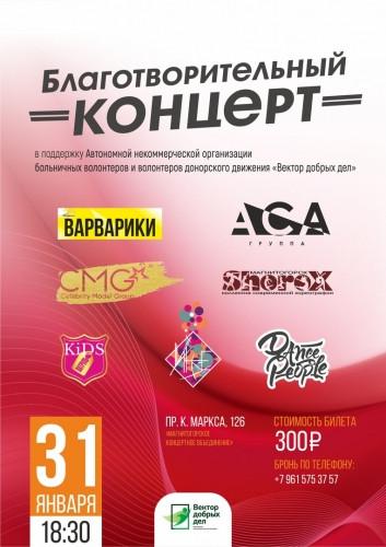 В поддержку движения. Магнитогорские волонтёры приглашают горожан на концерт