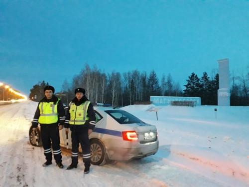 Пресекли более 500 нарушений. Вокруг Магнитогорска дежурят экипажи ДПС по Челябинской области