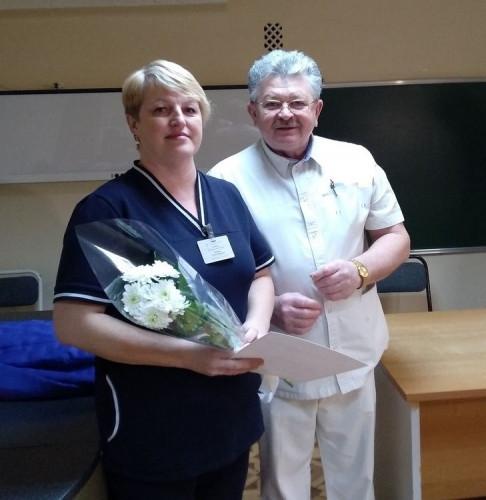 «Возраст расцвета». Хирурги старейшего отделения получили в подарок аппаратуру