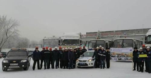 Поддержали акцию. Водительский состав предприятий Магнитогорска призывает к трезвости