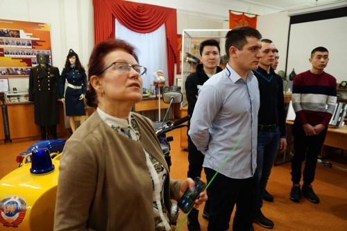 Историю милиции нужно знать. В Магнитогорске ветераны органов внутренних дел встретились с молодыми полицейскими