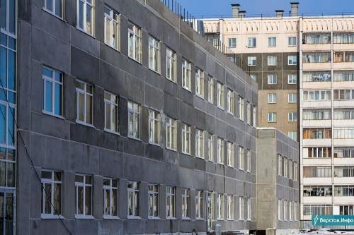 Большие деньги.Новая магнитогорская школа обошлась бюджету в 872,6 млн рублей