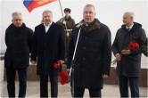 Про армию, защитников и Александра III. В Магнитогорске прошел митинг в честь Дня защитника Отечества