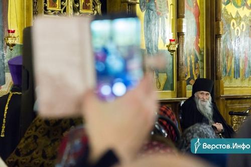 Встретился с главой и побывал на месте трагедии. В Магнитогорске проповедовал духовник патриарха старец Илий