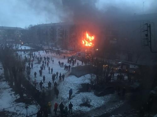 В Магнитогорске произошёл взрыв в жилом доме