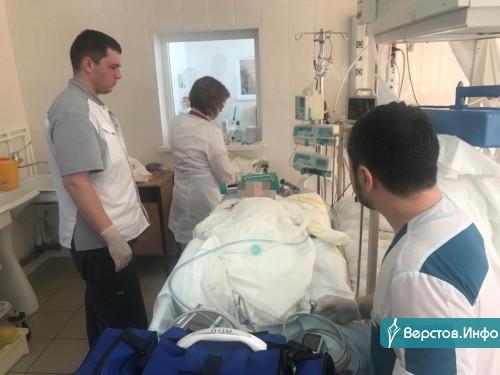 Стабилизировали. Малыша, пострадавшего после взрыва на Доменщиков, 19, накануне перевезли в Челябинск