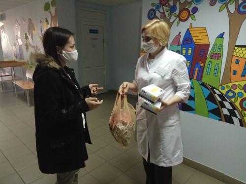 В условиях карантина. В Магнитогорске свою помощь поликлинической службе предложили волонтёры, общественники, а также крупные предприятия
