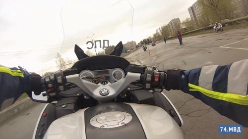 Маневренные мотоинспекторы. В Магнитогорске на службу заступил спецвзвод